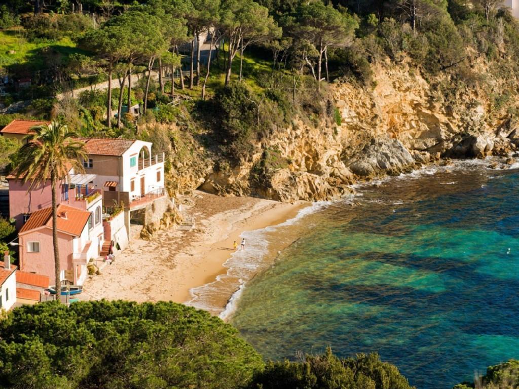 Capo Sant'Andrea, остров Эльба, Италия