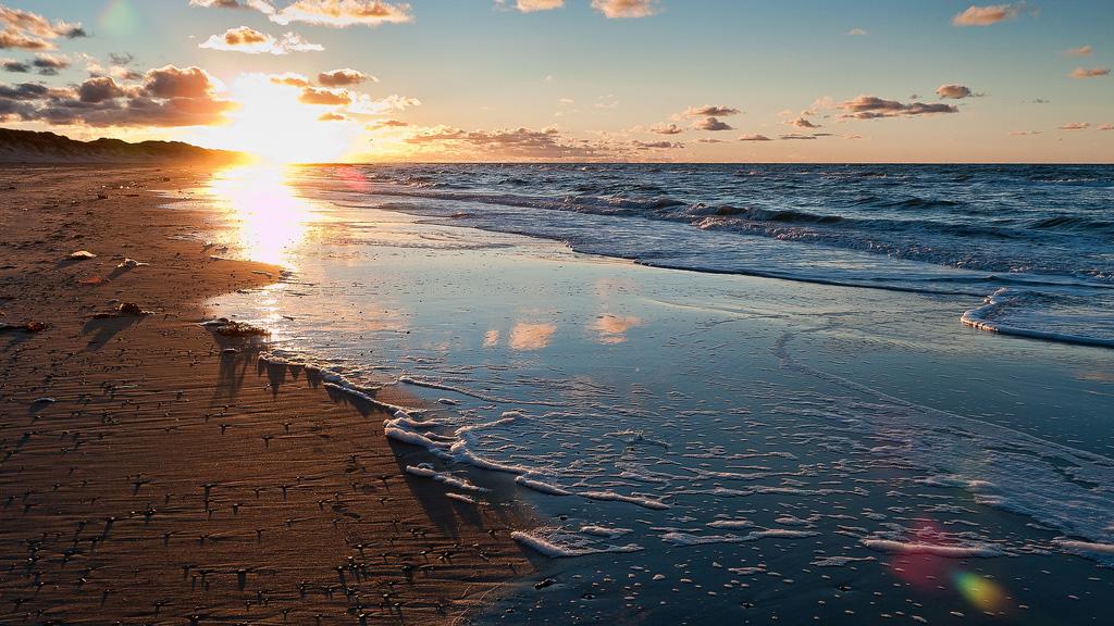 Пляж Skagen, Дания