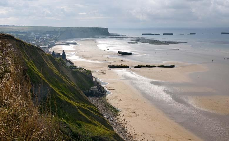 D-Day пляжи, Нормандия, Франция