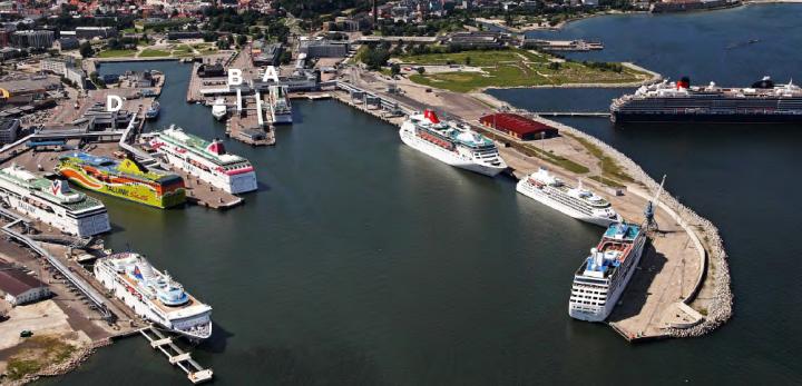 Таллинский порт готов принять новых туристов