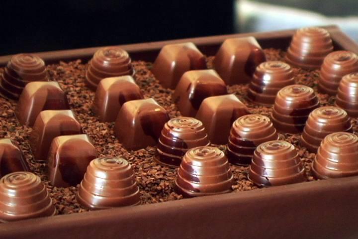 Шоколадное шоу в Великобритании