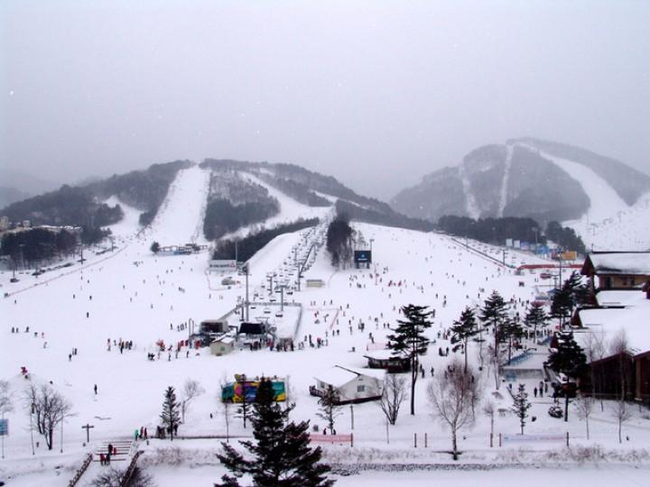 Южная Корея официально открыла горнолыжный сезон