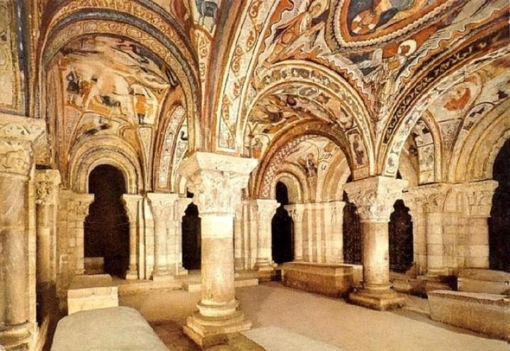 В храме Леона найден святой Грааль