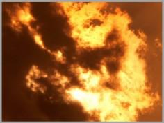 Пожар на пристани в Стамбуле