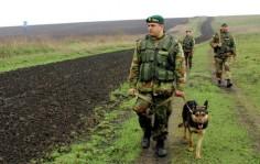 Пограничники Украины клеймят иностранных граждан
