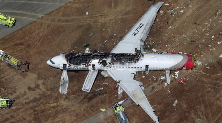 Крушение легкомоторного самолета в США