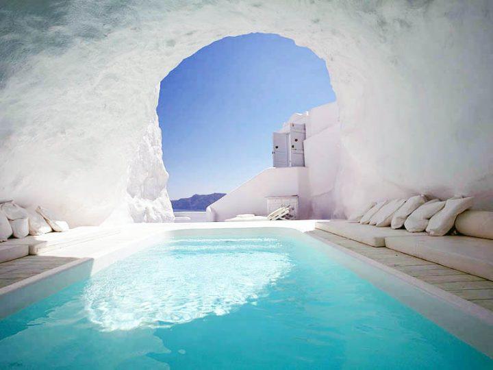 Открытие роскошного отеля в Греции