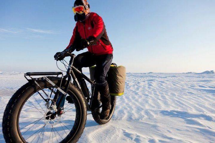 Южный полюс покорен на велосипеде