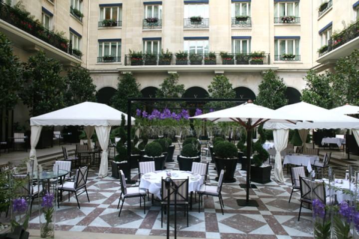 Hotel «4Seasons George V» открывает гостям свою самую ценную сокровищницу