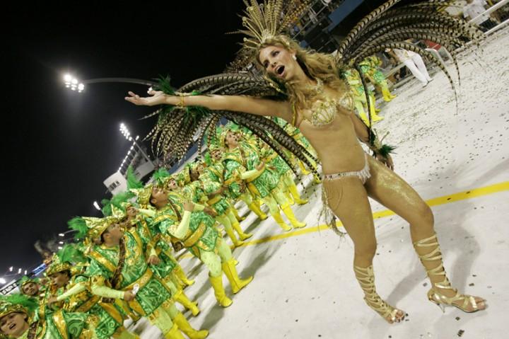 Озвучены даты проведения главного Карнавала Бразилии