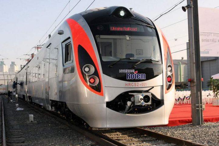 Украинские скоростные поезда временно не ходят