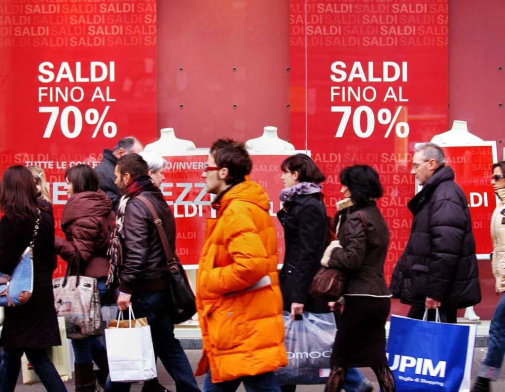 Зимний шопинг в Италии
