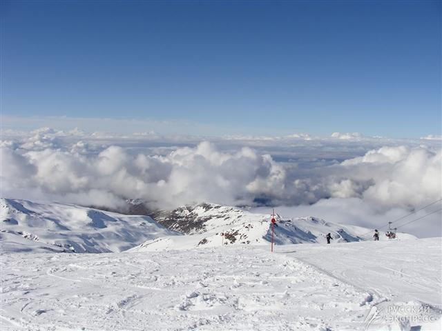 В горах Сьерра-Невада эксклюзив для опытных горнолыжников