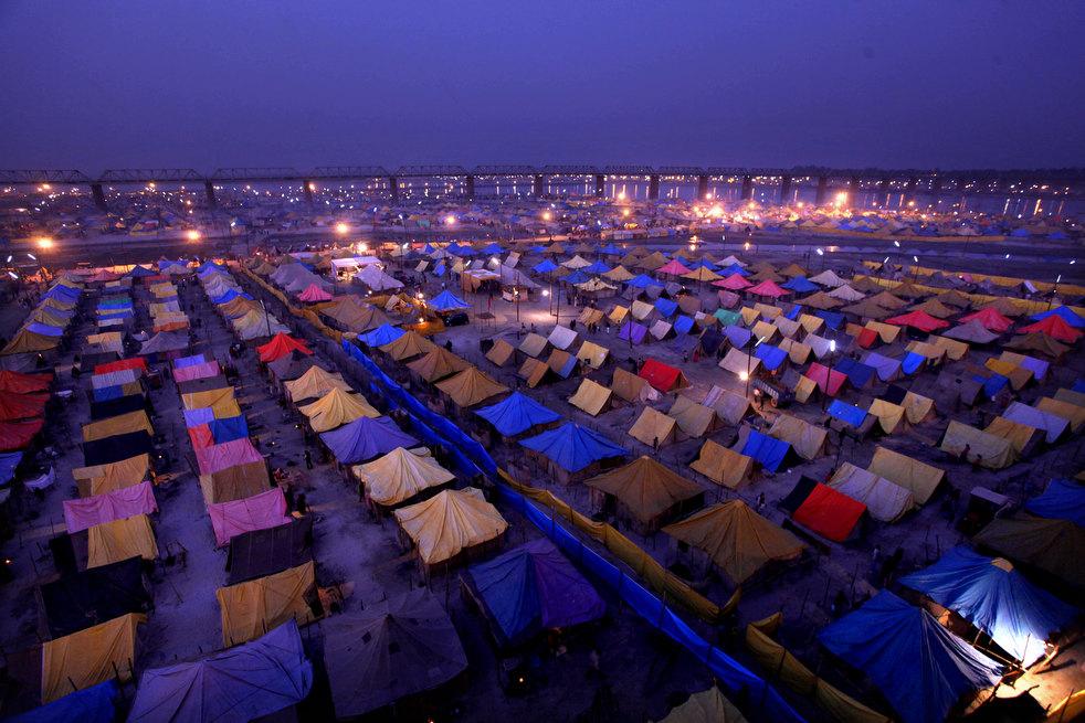 В Индии и палаточный городок может быть премиум класса