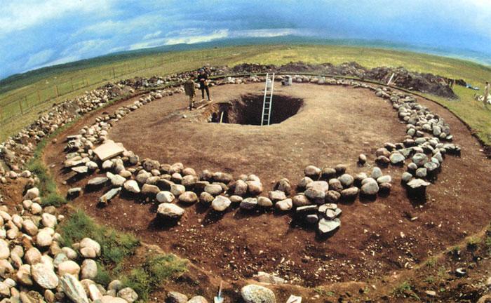 В древних казахских курганах построят подземные экспозиции