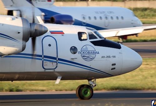 «Псковавиа» не планирует летать в Крым
