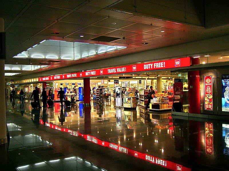 Крупнейший Duty Free в Сингапуре